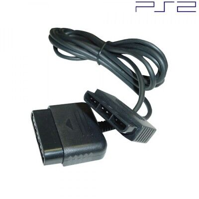 New 6 Foot Controller Cord Extension for PS2 / PS1 (Sony PlayStation 6' Ft Cable
