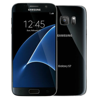 New Samsung Galaxy S7 G930T T-Mobile Unlocked 32GB Android Smartphone Black Onyx