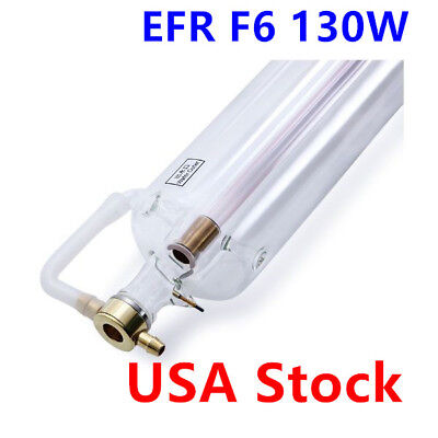 Us Efr F6 130w Co2 Sealed Laser Tube 1650mml For Laser Engraver