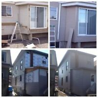 Siding, soffit and fascia repair services available.
