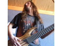 Bassist available for Thrash Metal. Megadeth, Nuclear Assault and Flotsam and Jetsam.