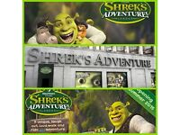 2x tickets for Shrek Adventure