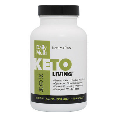 Living Multivitamin - Nature's Plus Keto Living Daily Multivitamin 90 Capsules