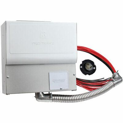 Reliance Controls Protran 2 - 30-amp 120240v 8-circuit Transfer Switch W...
