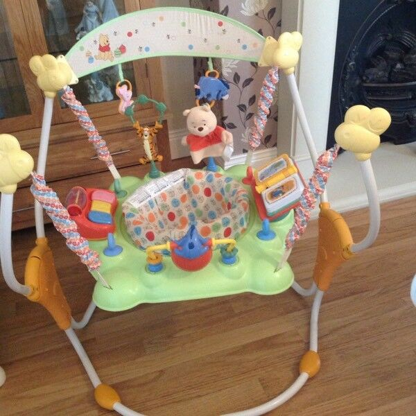 WINNIE THE POOH JUMPAROO (excellent condition )