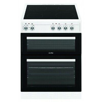 New Simfer SCOD62CEW 60cm Electric Cooker - White [NEW]