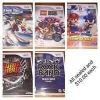 Wii games mixed
