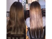 Great quality human hair extensions £150