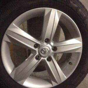 Winter tires 225/65/17 with mags like new