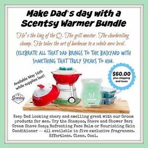 Scentsy Gifts for Father's Day and much much more