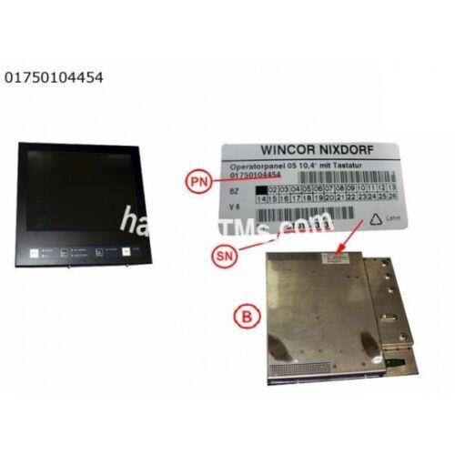"""Wincor Nixdorf Operator Panel 05 10,4"""" With Keyboard PN: 01750104454"""