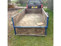 Handy sized trailer 8' X 4.4""