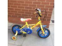 Children's bike Bob the builder