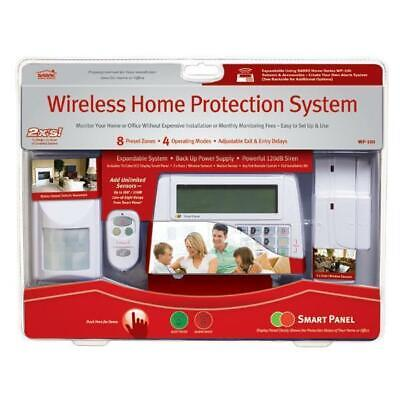 Sabre Wireless Home Alarm System 8 Security Zone WP100  Wireless-home-alarm-system