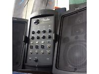 PA sound system for hire!