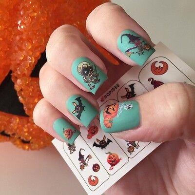 Adesivi water decals per unghie HALLOWEEN MANICURE nail art POLISH GEL NAGELLACK