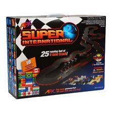 AFX Super International 4-Lane Mega G+ HO Slot Car Track Set w/Tri-Power FREE SH