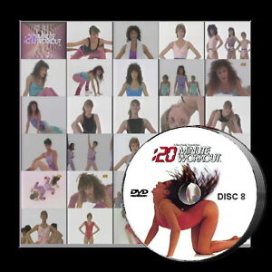 20-Minute-Workout-TV-Collection-8-DVD-Bess-Motta-Aerobic-Fitness-Exercise