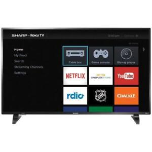 SHARP 50 LED ROKU SMART TV *NEW IN BOX WITH WARRANTY*