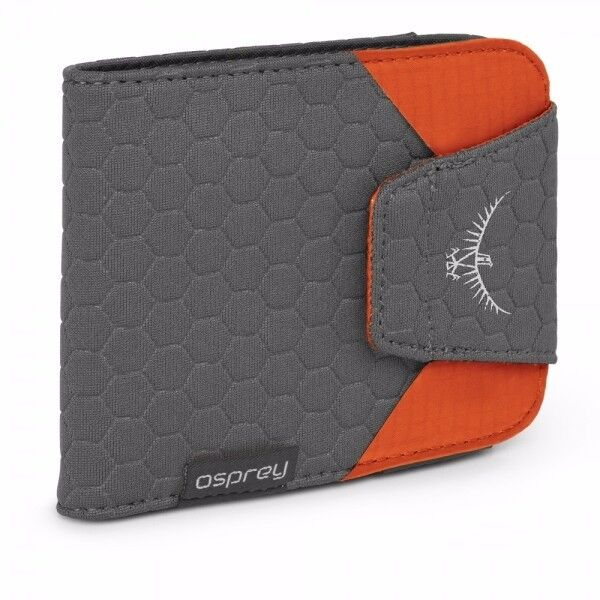 Osprey QuickLock Wallet in Poppy Orange - Brand New