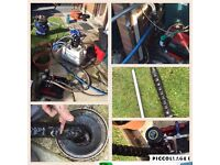 Central heating power flushing from £249 Inc chemicals
