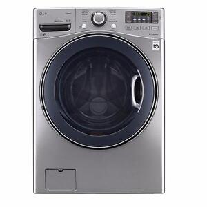 LG WM3475HVA 5.0 cu.ft. Ultra Large Capacity TurboWash™ Washer with NFC Tag on
