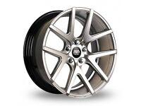 "19"" AVA Rockford on tyres for a Golf MK5 MK6 MK7 Jetta Caddy ETC"