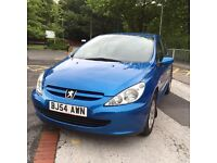 PEUGEOT 307 S 1.4 HDI EXCELLENT CONDITION BARGIN £1650 ONO