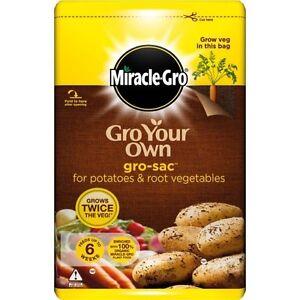 Miracle-Gro Potato & Vegetable Gro-Sac Compost 50L