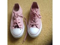 Girls. / ladies pink converse all stars new