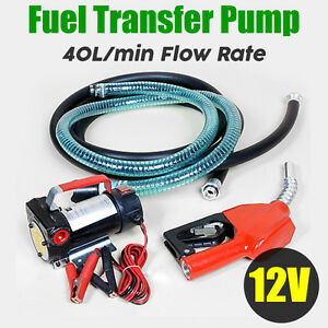 New 12V Bio-Diesel Commercial Fuel Diesel Oil Transfer Pump Station