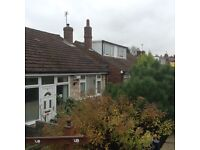 Two bedroom semi detached bunglow in Denton Lancshire. For sale or Part ex.