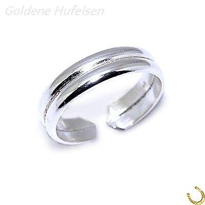 ZEHENRING 925 Echt Silber Zehring Top Geschenkidee / **648**
