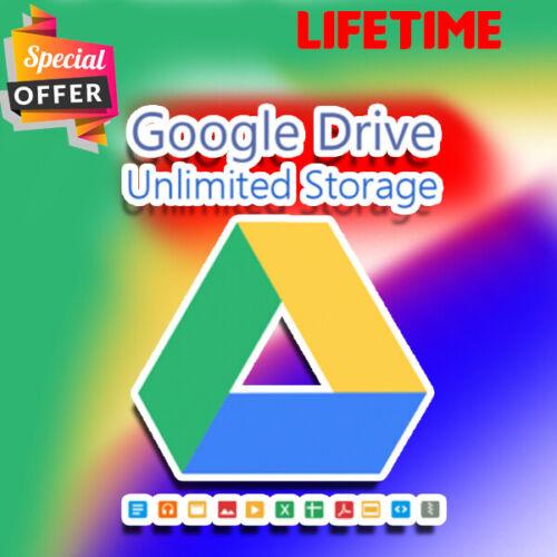 Google Drive  ⚡⚡ Storage Unlimited 100% ⚡⚡LIFETIME⚡⚡