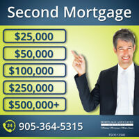 Second Mortgages - 2nd Mortgage - Emergency Loan - Home Equity