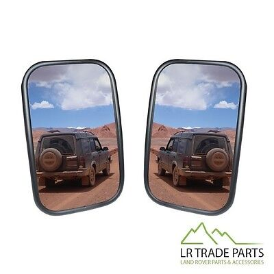 LAND ROVER DEFENDER XD WING MIRRORS IN GLOSS BLACK PAIR 2 X DA6892