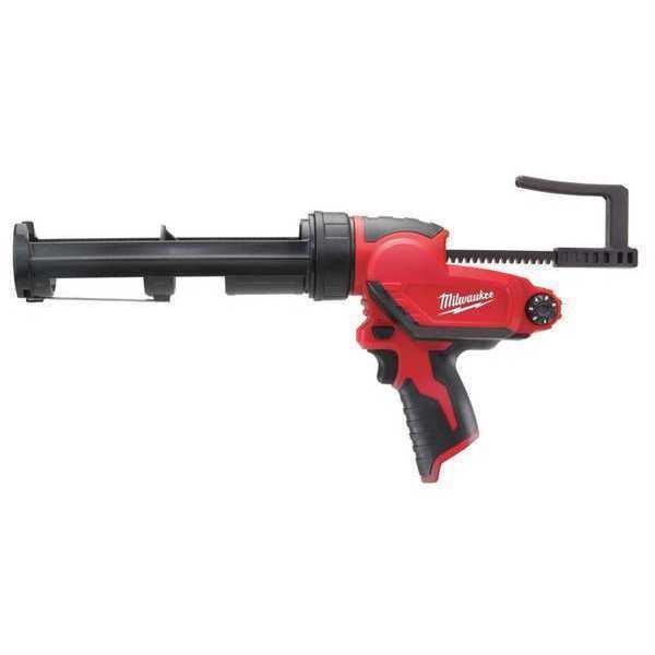 "MILWAUKEE 2441-20 M12™ 12V 10oz. 16-1/8 ""L Cordless Caulk & Adhesive Gun (Bare"