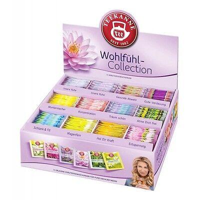 Teekanne Wohlfuehl Collection Box (180 Teebeutel) Gluten- und laktosefrei. Vegan