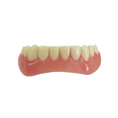 Smile Whitening BOTTOM Teeth Snap Cap On Instant Flex Perfect Veneers White UK