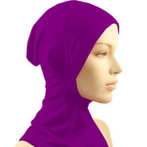 Muslim neck cover hijab under scarf