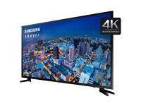 "New Samsung 40"" 4k Smart Led tv Netflix YouTube warranty free delivery"