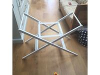 John Lewis white stand for moses basket