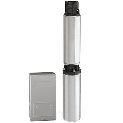 Flotec Fp3332 - 20 Gpm 1 Hp Deep Well Submersible Pump 3-wire 230v W Contr...