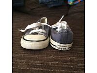 Converse toddler trainers size 5