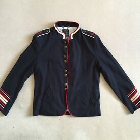 River Island Military style Jacket Navy size L for only £12.50