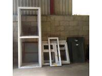 Unused White UPVC Double glazed Panels and window Frames still some sizes available