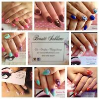 Ongles - cils - maquillage