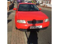 Audi A3 130bhp auto for sale or swap