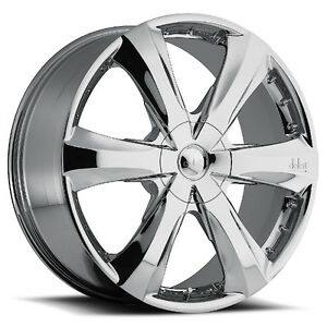 NEW! Chrome 20 rims/tire f150 1500 escalade expedition navigator