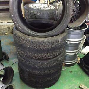 LIKE NEW 315/35R24 General Grabber Low pro Tires